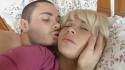 Stunning blondes anal