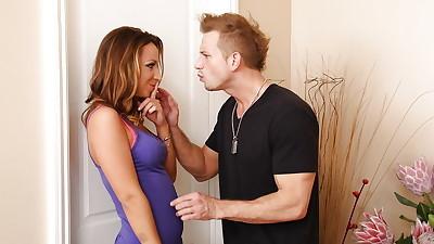 Chick with hot ass Jada Stevens..