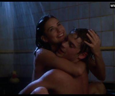 Demi Moore - Teen Topless Sex in..