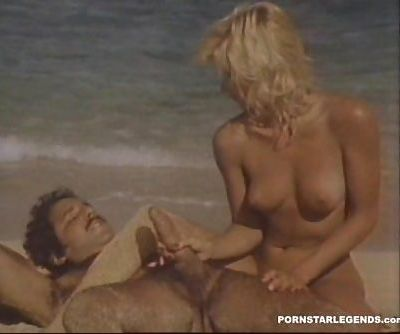 Ginger Lynn gets big cock fucking..