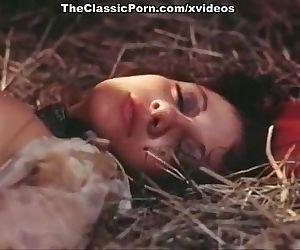 Porn movie on a hay