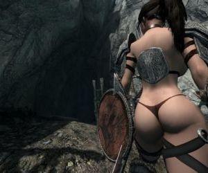 3d Lara croft