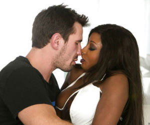 Splendid ebony milf Diamond Jackson gets her throat..
