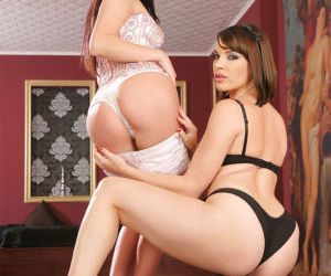 Dana DeArmond and Antonya delivering pleasure to each other