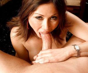 Busty older MILF Kianna Dior tit fucking cock in hardcore..