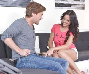 Hannah Sweet is fucking with her hot boyfriend after deep..