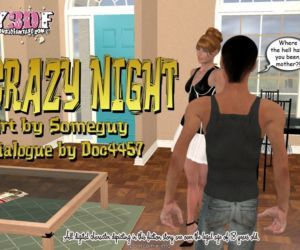 Y3DF – Crazy Night