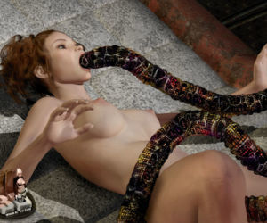 3d Tentacles and Alien Rape - part 2