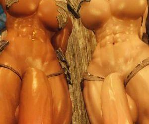 3D Skyrim Muscle Futa by FutanariPrisoner - part 2