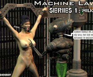 Machine Law. Series 1: Milk