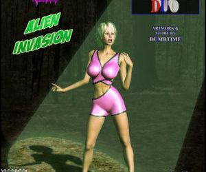 Alien Invasion - The Abduction