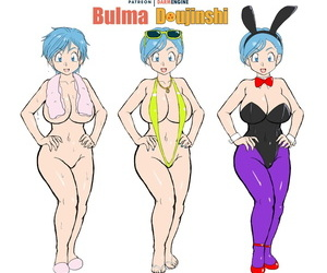 Darm Engine Bulma Doujinshi..