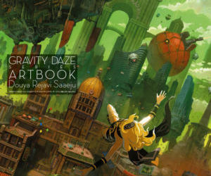 GRAVITY DAZE ARTBOOK
