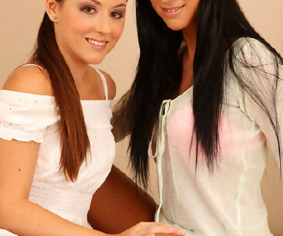Enjoy warm lesbian stimulation along naughty girls